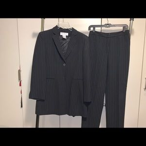 2 piece lined suit